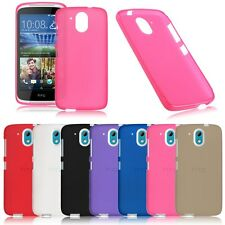 Latest Soft TPU Ultra Thin Silicone Gel Cover Case Protecter For HTC Desire 526G