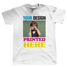 Custom T Shirt Printing - Personalised Your Image Photo Design Your Own