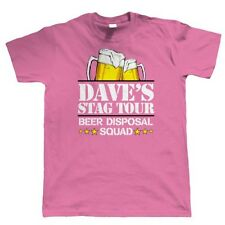 Beer Disposal Squad Stag Do Personalised T Shirt - Custom Design