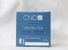 CND Creative Nail Design Tips Velocity NATURAL Refill Variations ~ 50ct/pack~