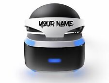 personalised psvr decal custom childrens name stickers game playstation vr