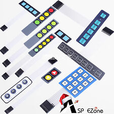 2 3 4 5 6 8 12Key Membrane Switch Keypad Keyboard For Industrial Control