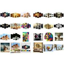 Creative Canvas Painting Oil Print Animal Landscape Wall Art Picture Decor 3pcs