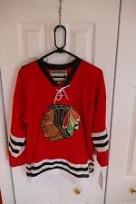 CHICAGO BLACKHAWKS HULL JERSEY CCM NHL HOCKEY HEROS YOUTH JERSEY HOME NEW