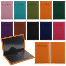 Hot Travel Passport Holder PU Leather Protector Cover Wallet Document Card Case