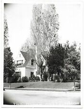 Photograph of Errol Flynn's Home in Hollywood/Beverly Hills, California~101717