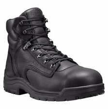 "TIMBERLAND PRO Men's 26064001 6"" Titan Blackout Full-Grain Alloy Toe Work Boot"
