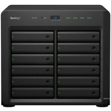 Synology DS3617xs 6.14tb SSD NAS Server 12x512gb Samsung 850 PRO Drives