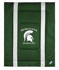 Michigan State University Sideline Bedding Comforter Cover