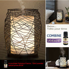 Essential Oil Diffuser Aroma Peppermint Lavender Yoga Spa Young Living-Desert