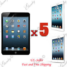 5X Premium Real Clear Film Slim HD Screen Protector For iPad 4 3 2 1 Air Mini