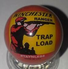 Super Nice Winchester Trap Load Collectible Red Glass Marble