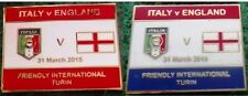 Italy v England 2015 Friendly International, Turin 31 March 2015 Pin Badge