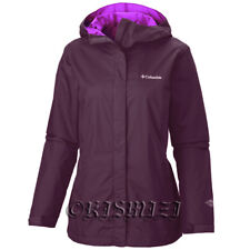 "New Womens Columbia ""Arcadia II"" Omni-Tech Waterproof Rain Wind Jacket"