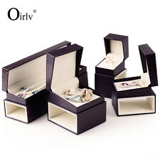 Oirlv Jewelry Packaging Boxes Watch Bangle Gift Box Leatherette Good Quality