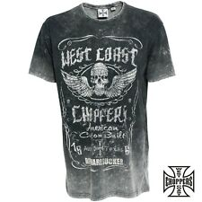 West Coast Choppers Ride Hard Sucker Vintage T-Shirt Biker Jesse James S to 4XL
