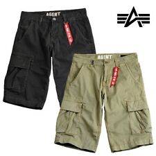 Alpha Industries Shorts Agent Bermuda Shorts Cargo Trousers Cargo S to 3XL NEW