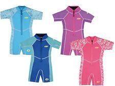 Osprey Boys / Girls Infant 3/2mm Shorty Wetsuit with SPF 50 Sun Protection
