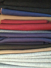 100% Wool Thick Raised / Loden Offcuts *Various Sizes Craft Upholstery Fabric
