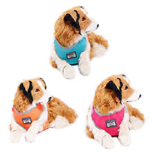 Adjustable Pet Cat Dog Harness Puppy Soft Mesh Fabric Padded Harness Collar