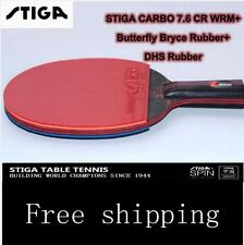 Ping Pong Paddles STIGA 7.6 Table Tennis Double Pimples  Fast Attack Butterfly