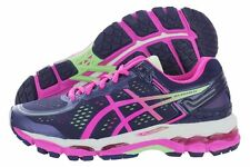 NIB Womens Asics Gel-Kayano 22 T597N-4935 Blue Pink Running Shoes