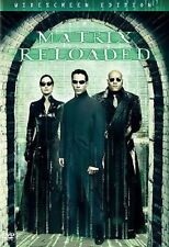 The Matrix Reloaded (DVD, 2003, 2-Disc Set, Widescreen) Keanu Reeves ~Ships Fast