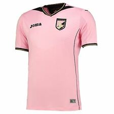 Joma Mens Gents Football Soccer Palermo Home Shirt Jersey Top 2016-17 - Pink