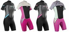 Osprey Origin Womens 3/2mm Shorty Summer Wetsuit - Surf, Kayak, Bodyboard, Swim