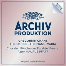 Gregorian Chant - The Office - The Mass - Varia [4 CD], New Music