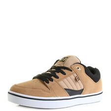 Mens Dc Course 2 Camel Light Tan Suede Leather Skate Trainers Size