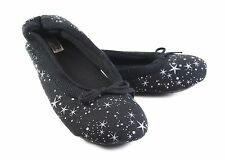 WOMENS GROSBY HOODIES BALLET UNIVERSE BLACK WHITE SLIPPERS SOFT SHOES S M L XL