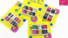 Bulk Lot Craft Wire Copper Wire Craft Bead Jewelry Making Assorted Colors R8500