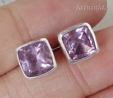 Gemstone Solid Silver, 925 Balinese Traditional Stud Earring 33932