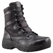 "TIMBERLAND PRO Men's 1166A001 8"" Valor Black Nylon Soft Toe Work Boots"