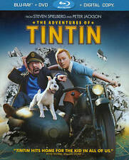 The Adventures of Tintin (Blu-ray/DVD, 2012, 2-Disc Set, Includes Digital Copy;
