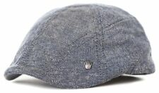 No Bad Ideas NBI Pac Mod Flat Cap Driver Slate Blue Hat
