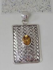 Gemstone Bali Handcrafted Solid Silver, 925 Pendant 35540