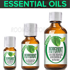 Peppermint 100% Pure Essential Oils For Diffuser 10,30,60ml Aroma Free Shipping