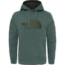 North Face Drew Peak Mens Hoody - Thyme All Sizes