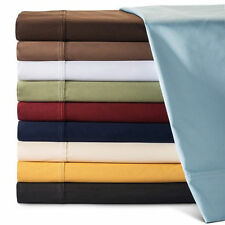 1000TC 100%EGYPTIAN COTTON LUXURY BEDDING ITEMS US FULL XL SIZE ALL SOLID COLOR