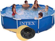 Intex Vertical Leg End Cap for 10 and 12 ft. Frame Pools 10576