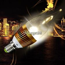 Energy Saving LED Candle Light Warm White Bulb Lamp High Power AC85~265V UTAR