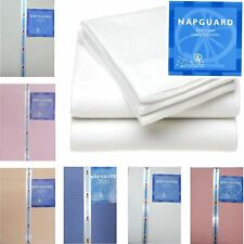 Thermal Napguard Plain Flette Flannelette Sheets 100% Natural Cotton Bed Sheets