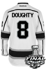 Drew Doughty Los Angeles Kings 2014 Stanley Cup Patch Reebok Away NHL Jersey