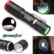 3500 Lumens 3 Modes CREE XML XPE LED AA Home Outdoor Flashlight Torch SuperLight