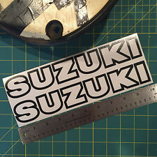 Vintage Suzuki Tank Sticker Decal Set for 1978 1978.5 RM 125 250 400 AHRMA PE175 (Fits: More than one vehicle)