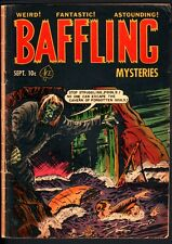 BAFFLING MYSTERIES #10-CRYPT KEEPER-LOU CAMERON-ACE-PRE-CODE HORROR