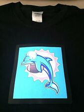 Miami Dolphins NFL Sound-Activated LIGHTS UP LED T-Shirt ALL SIZES Wireless