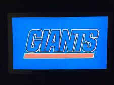 New York Giants NFL Sound-Activated LIGHTS UP LED T-Shirt ALL SIZES Wireless NY